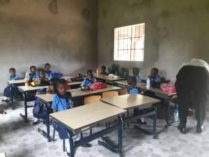 The Future Gambia - Eerste schooldag 2019 04