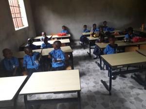 The Future Gambia - Eerste schooldag 2019 05