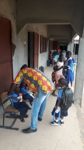 The Future Gambia - Eerste schooldag 2019 07