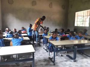 The Future Gambia - Eerste schooldag 2019 10