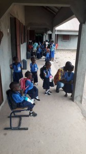 The Future Gambia - Eerste schooldag 2019 01