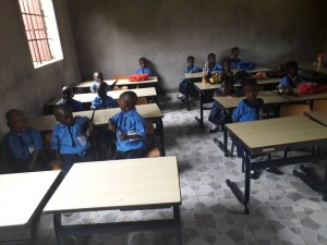 The Future Gambia - Eerste schooldag 2019 05