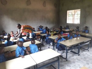 The Future Gambia - Eerste schooldag 2019 08