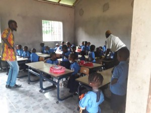 The Future Gambia - Eerste schooldag 2019 11